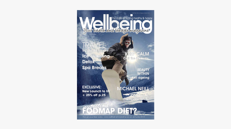 Wellbeing Magazine January 2014