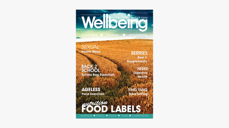 Wellbeing Magazine September 2013