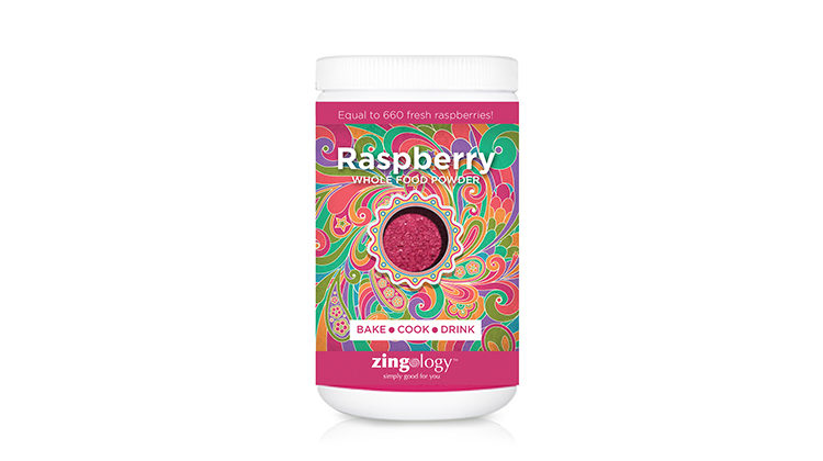 Zingology raspberry canister