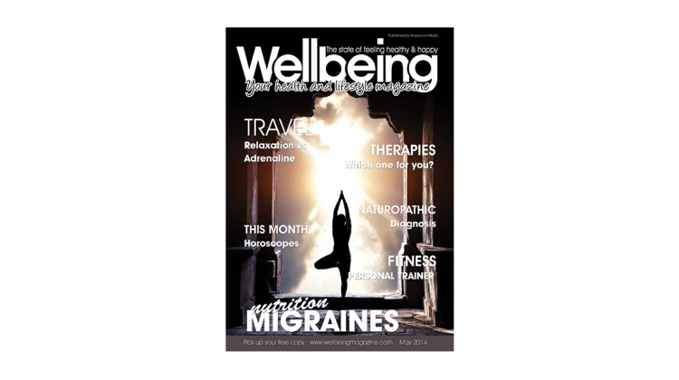 Wellbeing Magazine May 2014