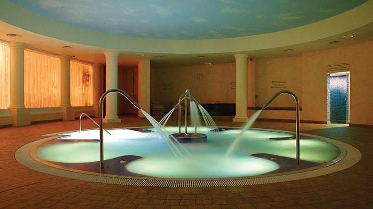 hydrotherapy pool whittlebury hall