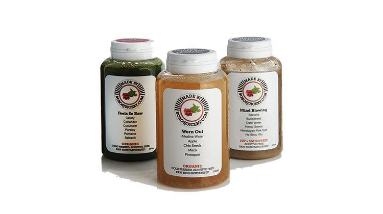 Bobos juicery bottles
