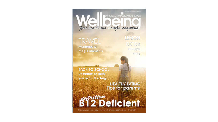 Wellbeing Magazine September 2014