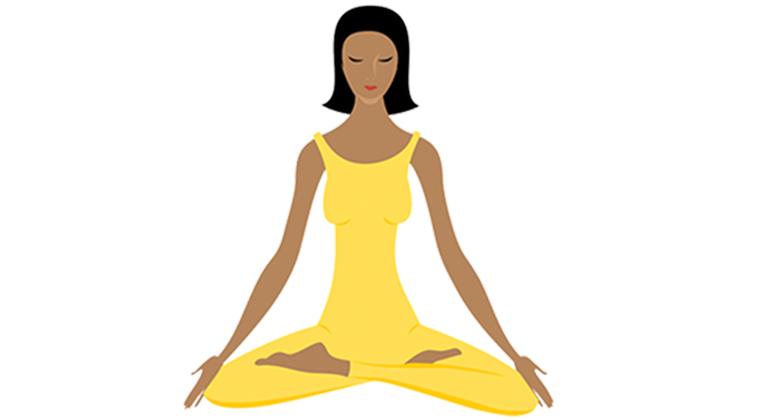 Resultado de imagem para clip art of transcendental meditation