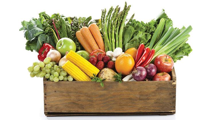 fruit & veggie box