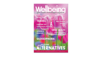 Front over of May 2016 wellbeing Magazine