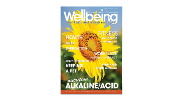 September wellbeing Magazine front cover